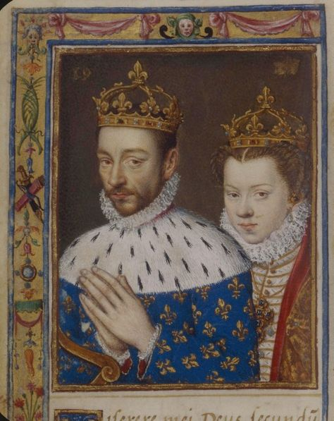 Charles IX of France and Elizabeth of Habsburg