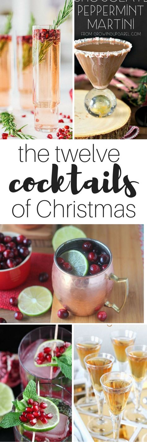 The Twelve Cocktails of Christmas