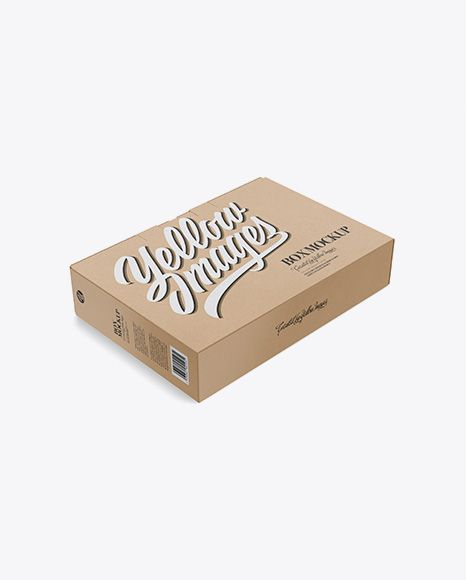 Download Download Kraft Carton Box With Handle Psd Mockup Half Side View High Angle Shottemplate Mockup Free Psd Free Psd Mockups Templates Psd Mockup Template