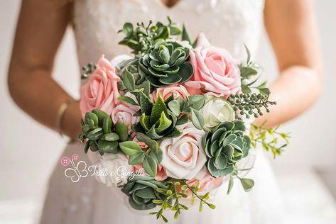 Bouquet Da Sposa Originali.Quanto Costa Un Bouquet Da Sposa Piante Grasse Bouquet