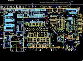 مسقط مطعم Restaurant Pizza Hut اوتوكاد Dwg In 2021 Tourism Electronic Components Pizza Hut
