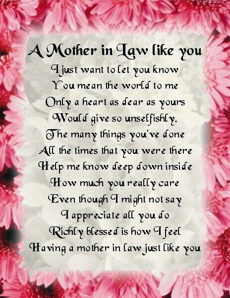 Mama Terri Here S For You When I Marry Your Son Love You
