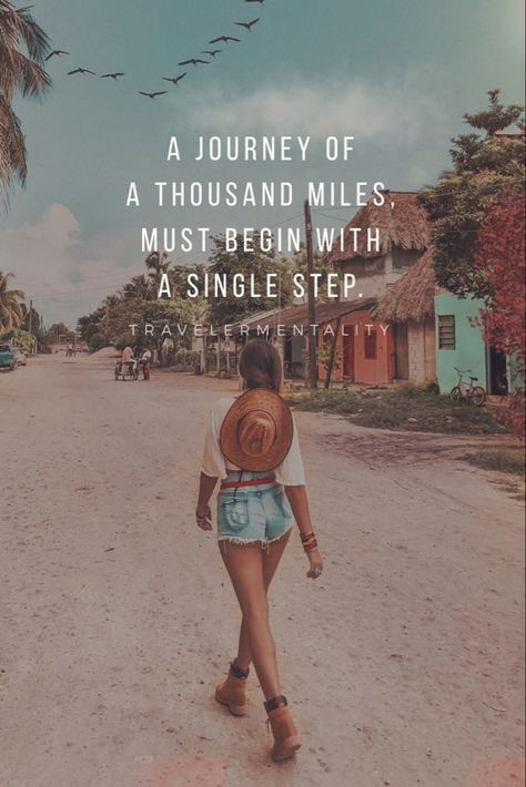 A journey of a thousand miles, must begin with a s... - #affirmations #journey #miles #thousand