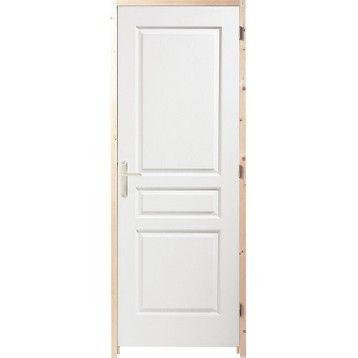 Bloc Porte Acoustique Postforme H 204 X L 73 Cm Bloc Porte Porte Acoustique Porte Postformee