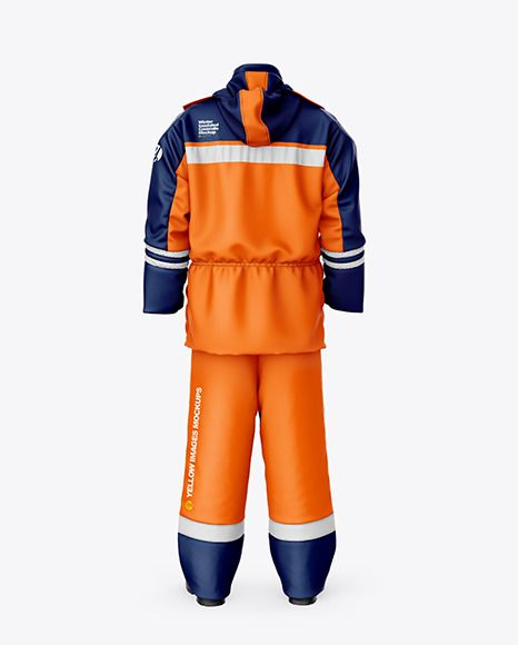 Work uniform mockup