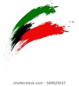 Happy Kuwait National Day Vector Illustration Based On Grungy