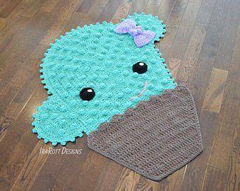 Crochet Pattern Jimmy The Hybrid Car Rug Pdf Crochet Pattern With Instant Download Crochet Patterns Crochet Mobile Crochet Rug Patterns