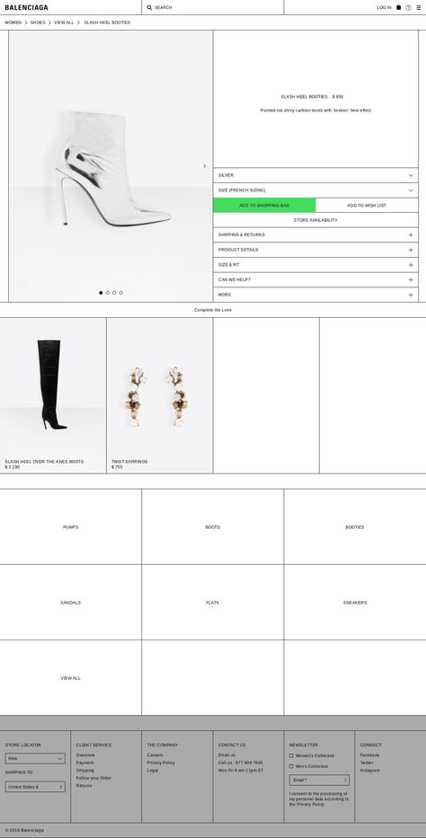 Screenshot https://www.balenciaga.com/us/slash-shoes_cod11247004xi.html#/us/women/wshsnklbts... - a grouped images picture