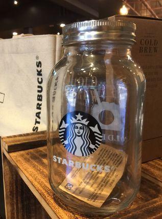 Starbucks スターバックス 容器 ストッカー Starbucks スタバ コーヒー用キャニスター ガラス 瓶 スターバックス スタバ 瓶