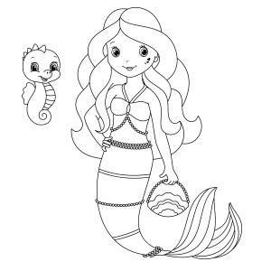 Baby Sereias Pesquisa Google Sirena Para Colorear Libro De Colores Historieta De La Sirenita