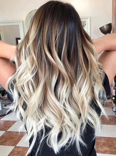 Ombre Straight Hair Brown Ombre Hair Blonde Ombre Hair Dark Hair Balayage Hair Ombrehair Ombre Hair Blonde Platinum Blonde Balayage Hair Color Trends