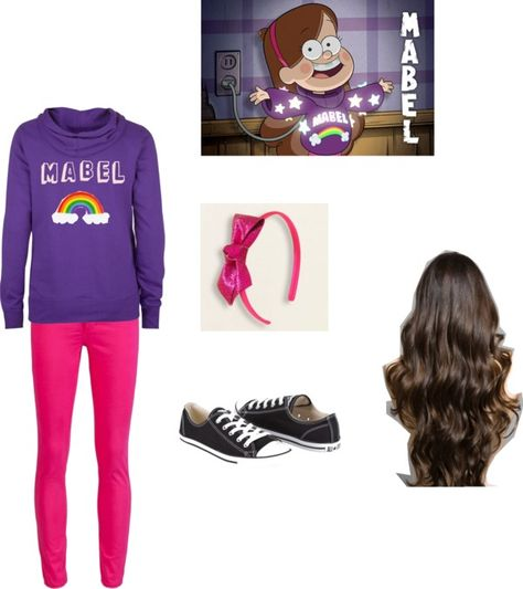 """""""Mabel Pines Inspired"""" by hpumphrey on Polyvore"""