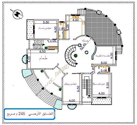 Pin By Gamal Rady On Classic House Design My House Plans Classic House Design New House Plans