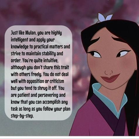 Which Disney Princess Are You Based On Your Zodiac Sign? | PlayBuzz I'm Mulan!