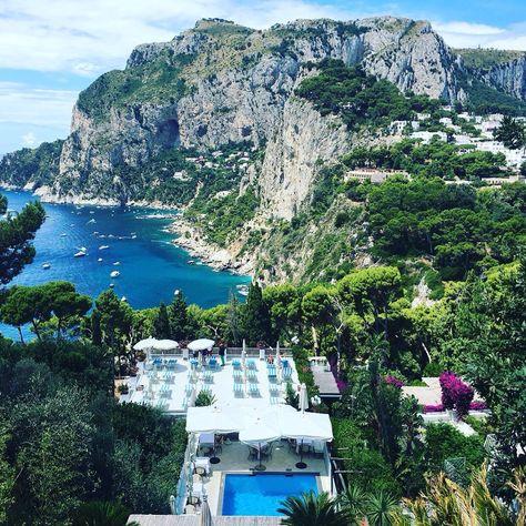 Terrazza Brunella A Capri Napoli Places To Go Adventure