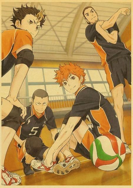 Haikyuu!! Posters - 42x30 cm / E193 7