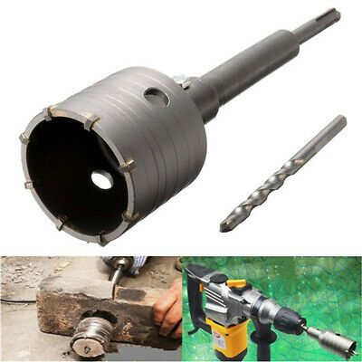2 9 16in Hole Saw Cutter Drill Bit With Sds Plus Shank For Concrete Cement In 2020 Drill Bits Concrete Cement Hole Saw