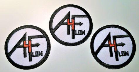 4A FLOW LOGO®Patch (Set of 3)  32f02c1ebb27