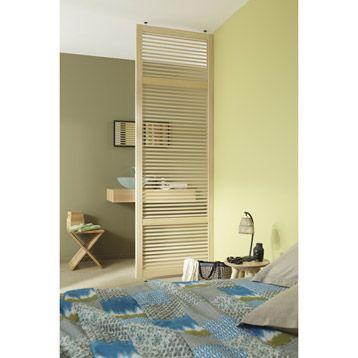 Cloison Amovible Persienne, Larg : 80Cm, Haut : 252Cm | Terrasse