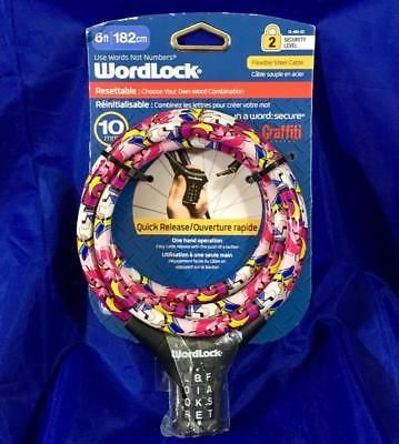 Sponsored Ebay Wordlock Bicycle 10 000 Word Combination Cable