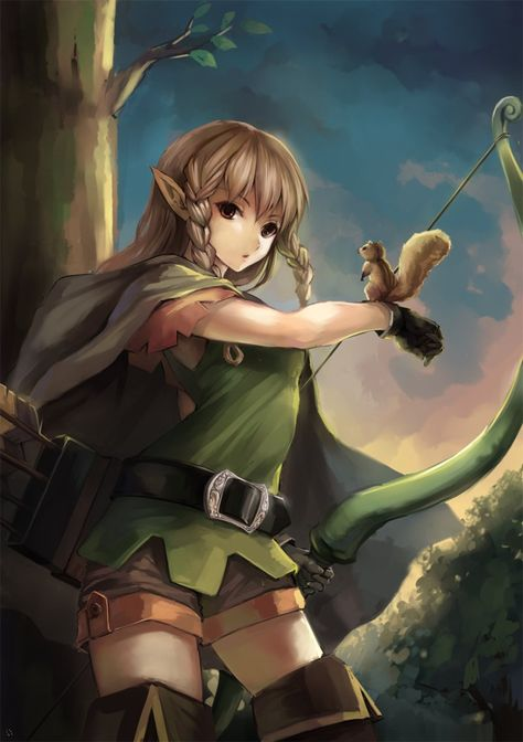 Dragon S Crown Elf By Warmhouse In 2019 Dragons Crown
