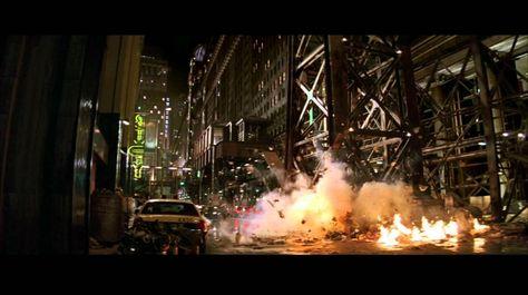 batman begins film décors | Les mouvements du héros, comme de ses ennemis sont…
