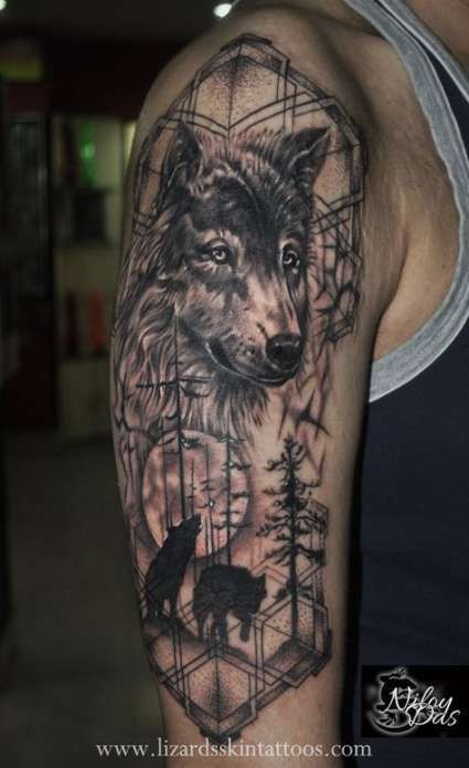 19 New Ideas For Tattoo Sleeve Mens Wolves Wolf Tattoos Wolf Tattoos Men Half Sleeve Tattoos Wolf