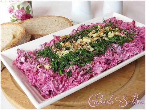 Cevizli Lahanalı Pancar Salatası