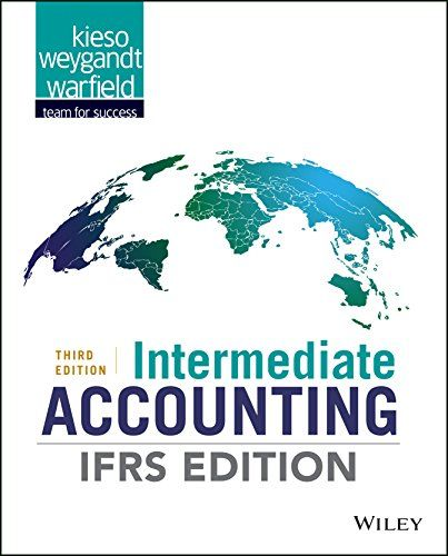 Test bank for Intermediate Accounting IFRS Edition 3rd