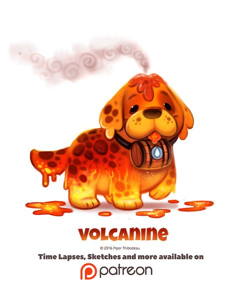 Day Volcanine by Piper Thibodeau on ArtStation.