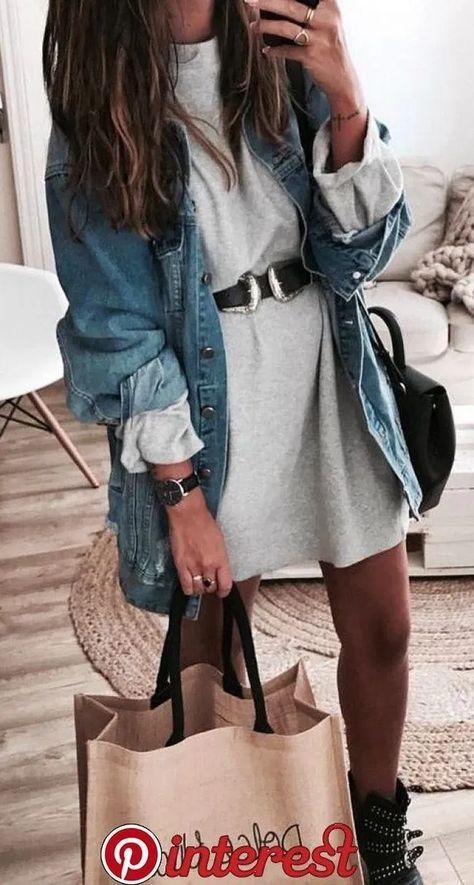21 denim outfits that make you look cool - .- 21 Denim-Outfits, die dich cool aussehen lassen – … – Alles ist da 21 denim outfits that make you look cool – … – -