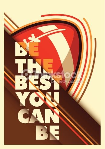 Clipart vectoriel : American football advertising poster design.