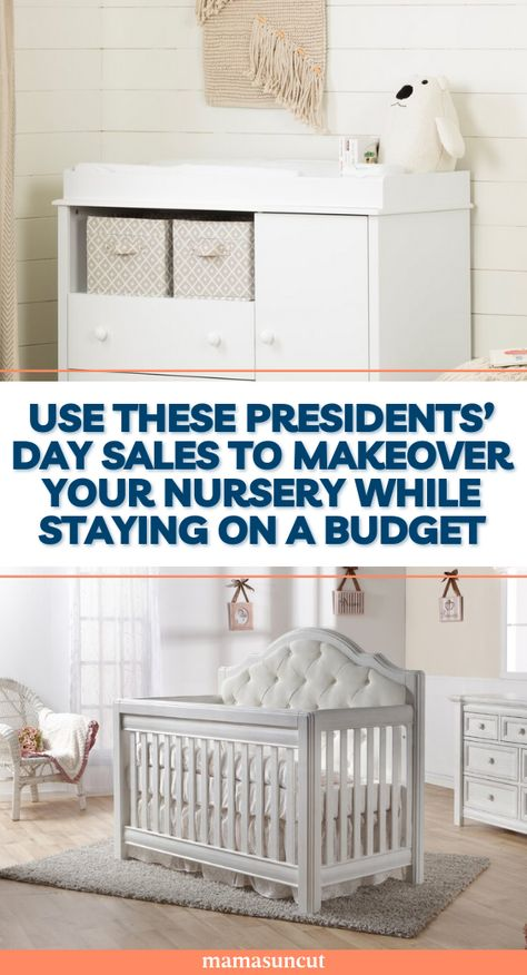 It's Presidents' Day Weekend which means there a deals to take advantage of. And these deals on nursery furniture are worth a look.