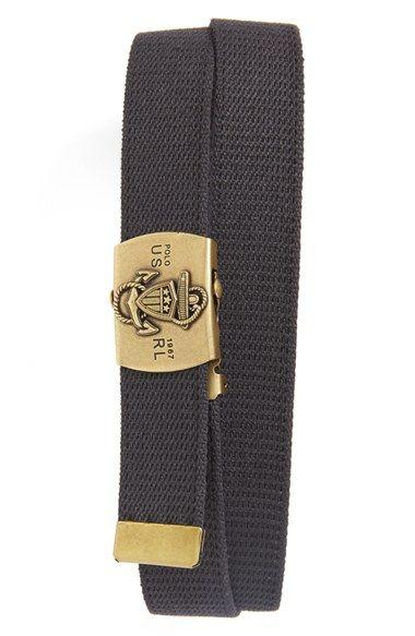 Polo Ralph Lauren Cotton Belt | Polo ralph lauren, Ralph