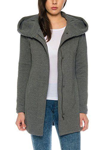low priced 1dc6a 30d0e ONLY-Damen-Woll-Mantel-onlSedona-Link-Coat-15144772-Kurz ...