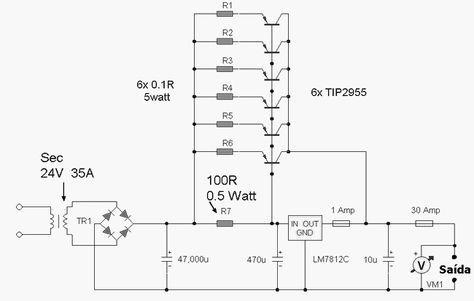 12 Volt Power Supply 30 Amp