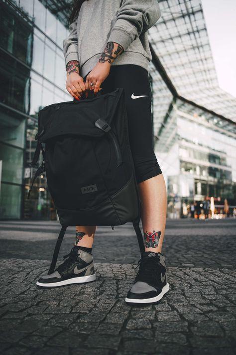 black. presented by AEVOR backpacks