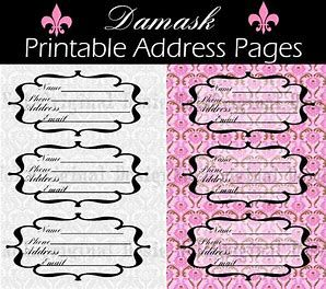 photograph relating to Cute Printable Address Book known as Pinterest Пинтерест
