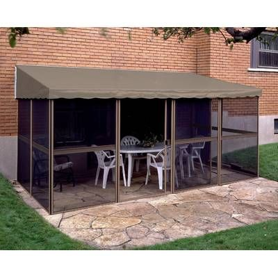 Add A Room 16 Ft W X 10 Ft D Aluminum Patio Gazebo