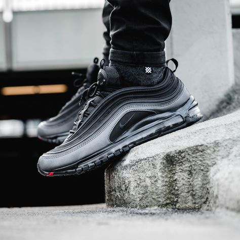 "The Sole Supplier on Instagram  ""Nike Air Max 97 Metallic Hematite dropped  today did you cop   📷 by  solebox  thesolesupplier"" 16b4d0825"