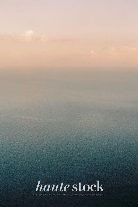 Summer landscape travel styled stock photography for female entrepreneurs featuring sunset or sunrise over the ocean. #hautestock #summer #stockphotography #lifestyle #femaleentrepreneur #branding #blogging # socialmedia #summer #landscape #nature