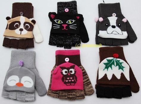 Kolorowe rękawiczki bez palców PRIMARK ATMOSPHERE