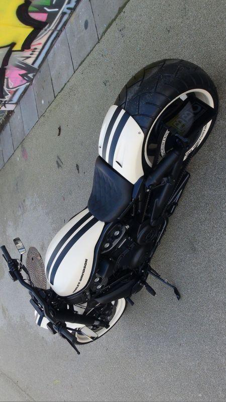 "Harley-Davidson V-Rod Airride ""White Pearl 280"" by Bad Boy Customs"