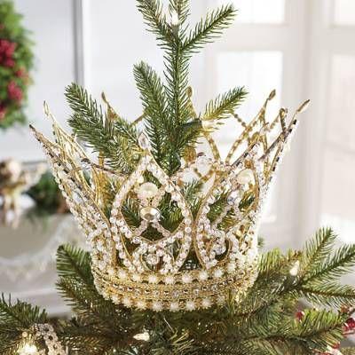 Cyndi Lauper Tiara Tree Topper Grandin Road Christmas Tree