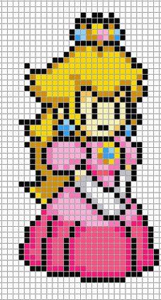 Résultat De Recherche Dimages Pour Pixel Art Mario Fleur