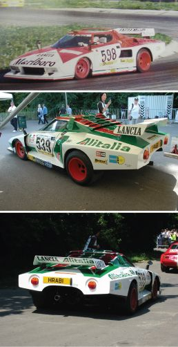 Lancia Stratos Turbo Group Liveries Italy Red White
