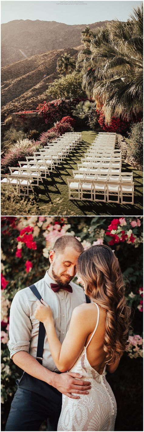 Palm Springs Venues, The O'donnell House, Outdoor Ceremony, Desert Wedding, Desert Bride, Palm Springs, Joshua Tree, Wedding Venues in Palm Springs, Brogen Jessup Photography, Palm Springs Wedding, Palm Springs Wedding Venue, Palm Springs Inspo, Tropical Wedding, Desert Wedding, Palm Springs Reception, Palm Springs Ceremony, Wedding Chairs, Wedding ceremony