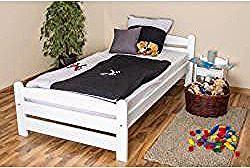 Kinderbett Jugendbett Buche Massiv Vollholz Weiss 118 Inkl Lattenrost Abmessung 100 X 200 Cm St In 2020 Toddler Bed Bed Furniture