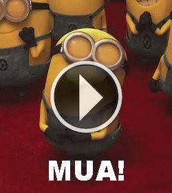MUA! #minion #DespicableMe