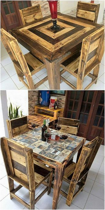 Top 20 Dining Room Table Set Ideas Pallet Furniture Diy
